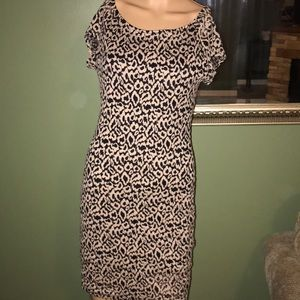 Forever 21 black and brown dress